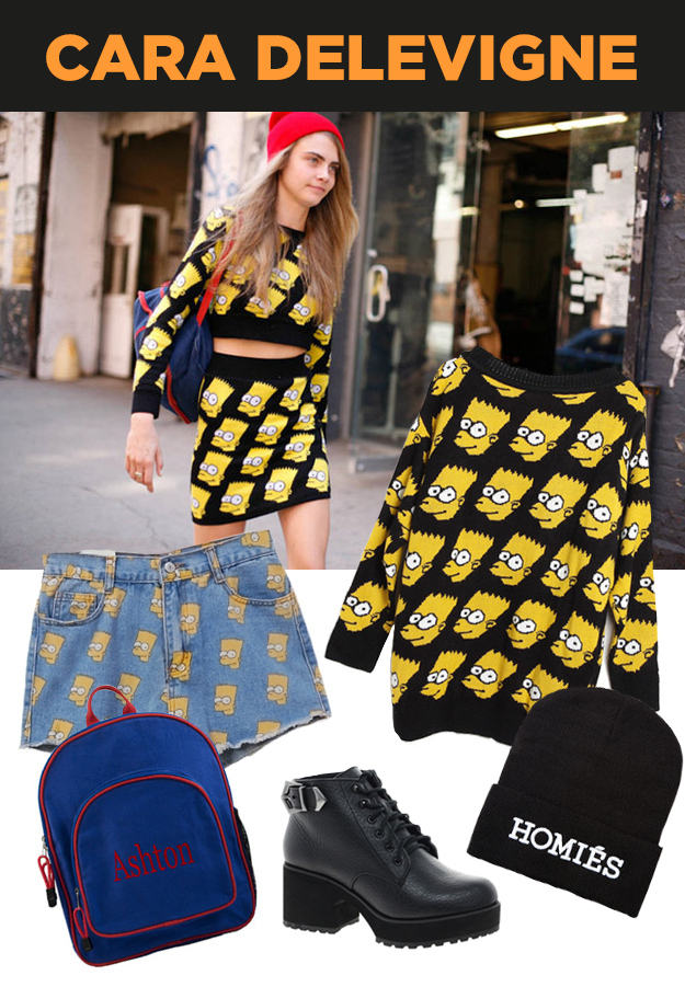 Links to get the stuff Bart Simpson sweatshirt Homiés beanie buckle boots  sc 1 st  BuzzFeed & 18 Timely Halloween Costumes For 2013