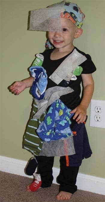 2 affix clothing and dryer sheets to yourself to personify static cling