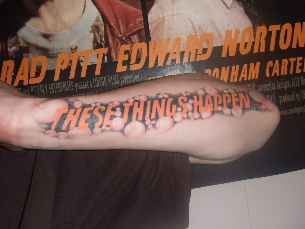 14 Incredible Chuck Palahniuk Tattoos