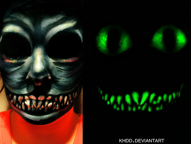 10 Easy Halloween Costume Ideas Using Only Black Light Makeup
