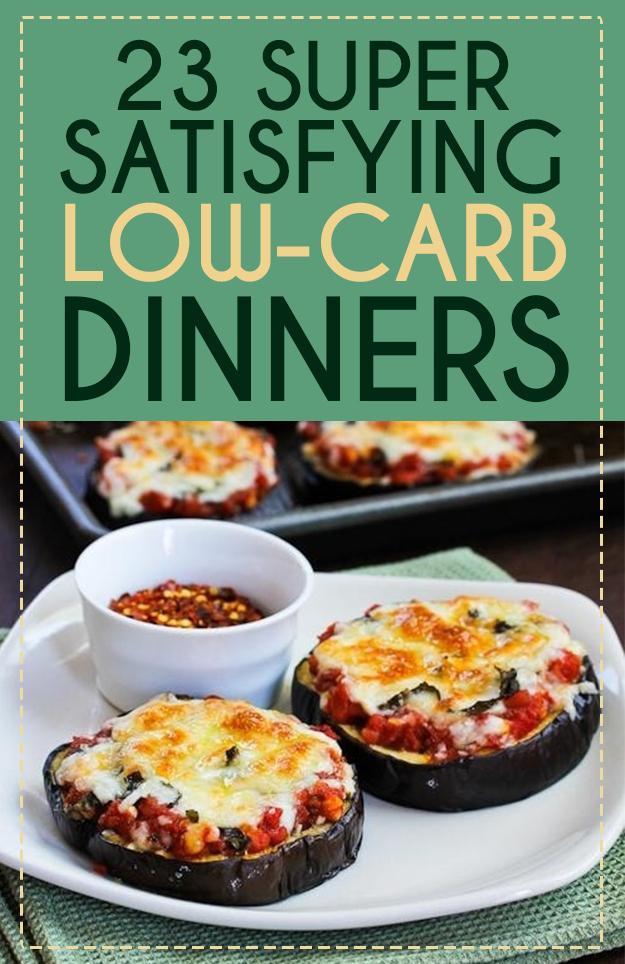No carb recipes easy