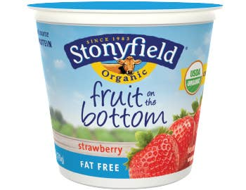 Probiotics are great. But some yogurts, like Stonyfield Farm's Fruit on the Bottom Strawberry yogurt can contain 21 grams of sugar. A Frosted Strawberry Pop Tart only has 17 grams.