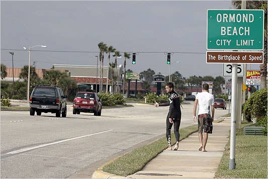 Quick history about Ormond Beach, Florida.