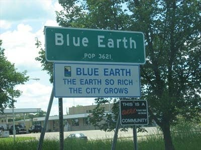 Fast facts about Blue Earth, Minnesota.