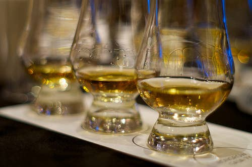 "The word whisky is derived from the Gaelic word ""Uisge Beatha"" which means ""water of life"""