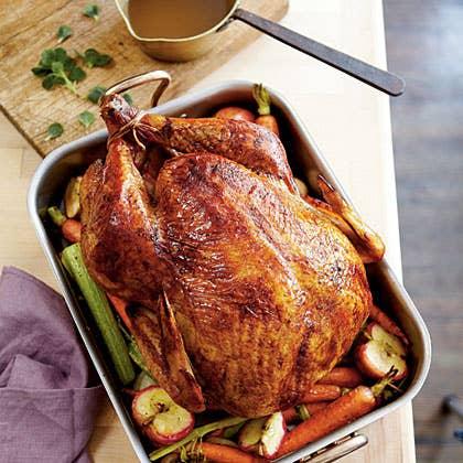 Recipe: Apple-Bourbon Turkey And Gravy