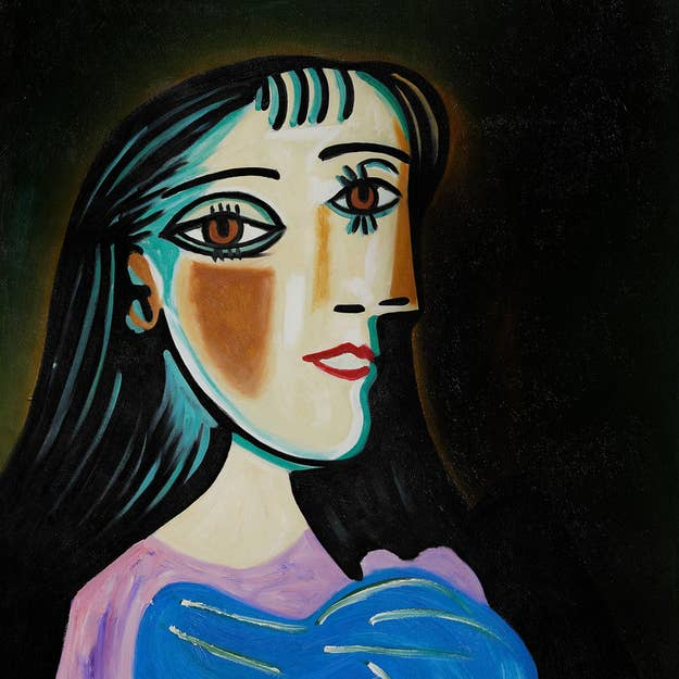 16 picasso painting - Art Costumes Halloween