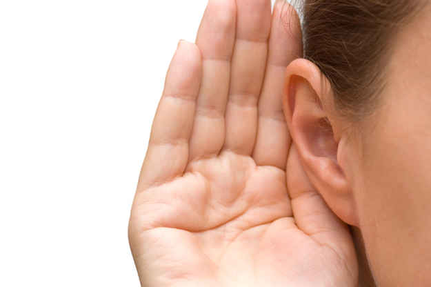 """""""If you have trouble hearing someone at a party or on the phone, use your right ear."""""""