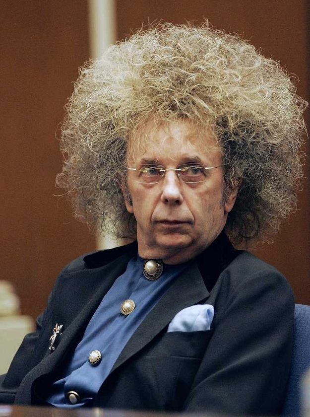 And Phil Spector's perm, as told by his song Be My Baby*