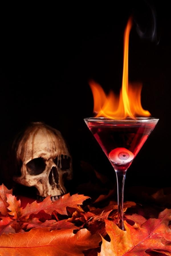 21 halloween drinks that will make you laugh for Halloween alcoholic punch bowl recipes