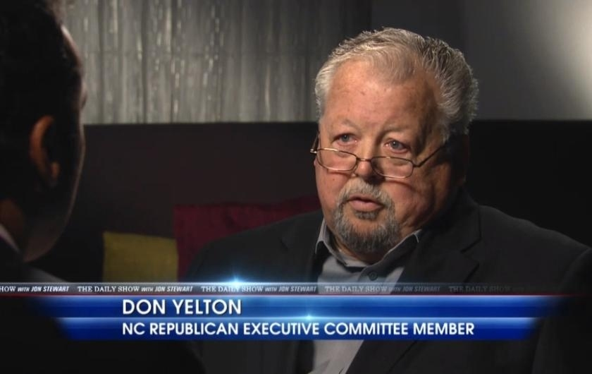 """GOP Chair Resigns After Racist """"Daily Show"""" Interview"""