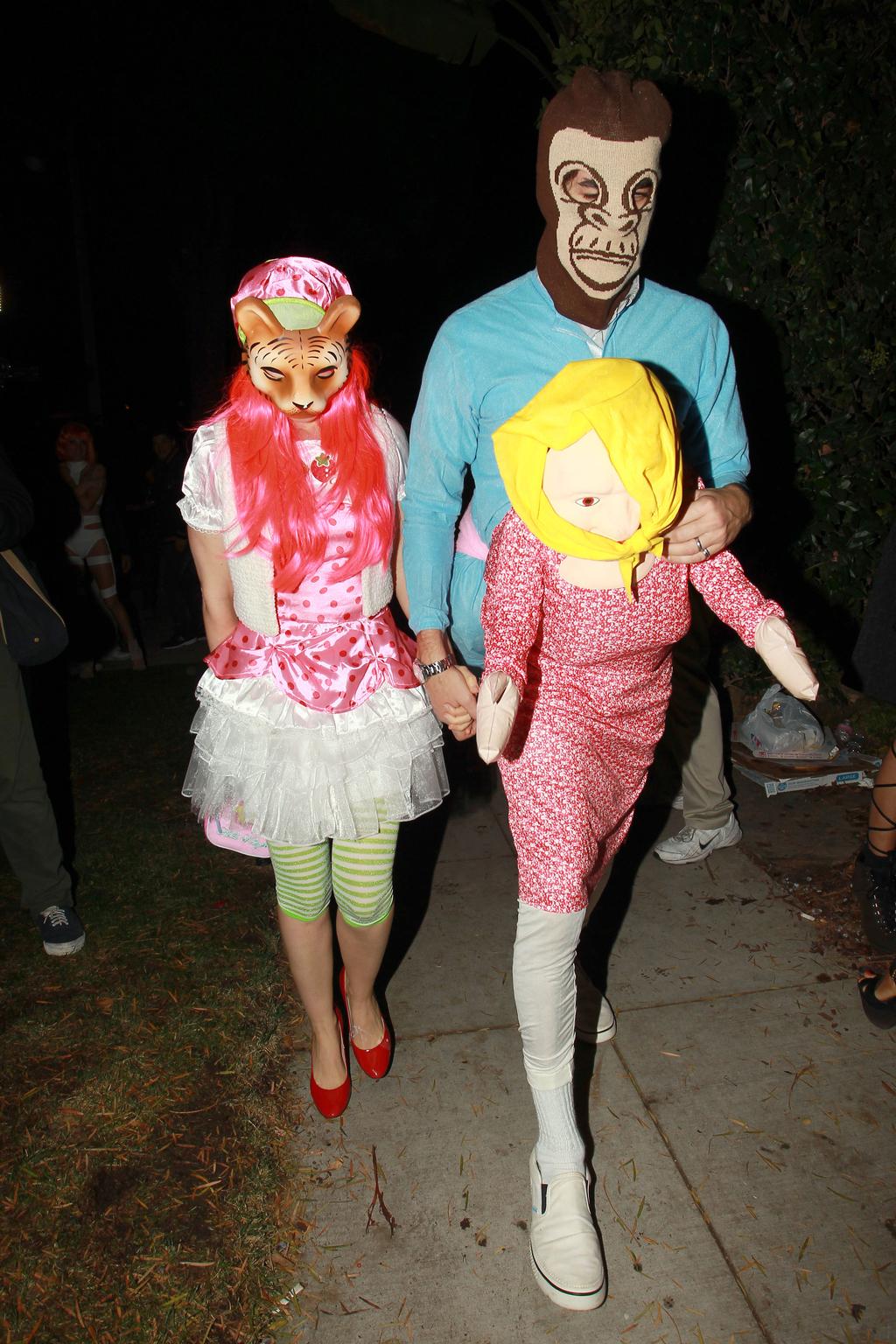 48 Halloween Costumes Celebrities Wore This Weekend