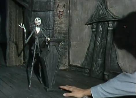 15 if there was ever a problem with a frame they would have to go back and re photograph the entire thing - Making Of Nightmare Before Christmas