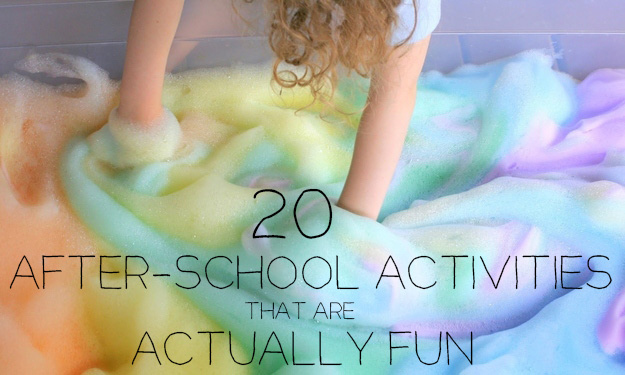 20 after school activities that are actually fun