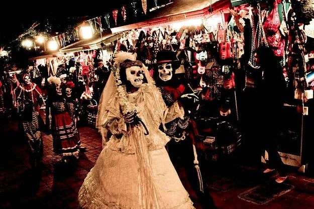 """When: Nov. 1Where: Celebrations are held by cultural Mexicans throughout the world, but a few of the bigger celebrations take place in Mexico City and Los Angeles.Why you should go: Dia de los Muertos, or """"The Day of the Dead,"""" celebrates All Saint's Day, which remembers all those who have passed before us. A colorful display of costume and culture, Dia de los Muertos is a day you don't want to miss."""