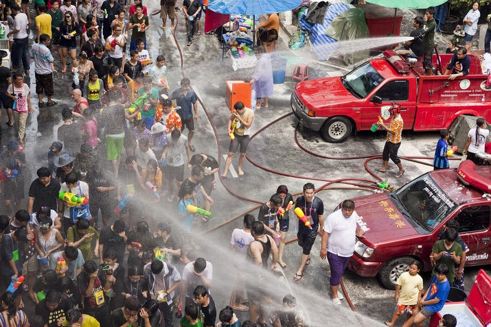 When: April 13–15 (for 2014)Where: Chiang Mai, ThailandWhy you should go: This is the water fight of your dreams, so back up your Super Soakers, water balloons, and water bottles and head to Thailand for a wet and wild adventure.