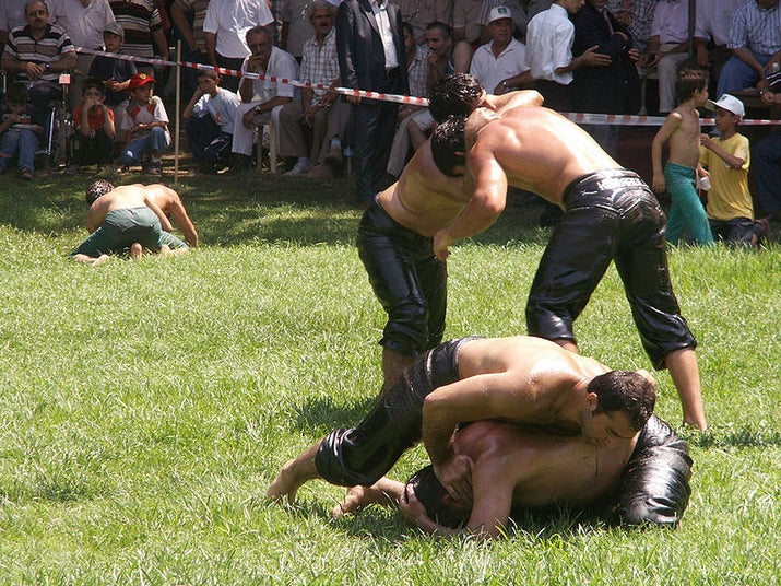 When: June 29–July 5 (for 2014) Where: Erdine, TurkeyWhy you should go: Strong men wrestling while covered in oil. There is literally nothing else to say.