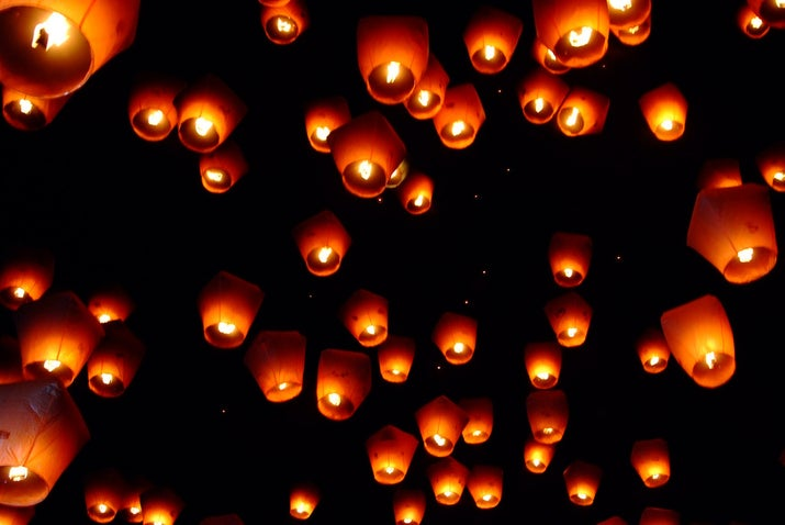 When: Feb. 23 (for 2014) Where: Pingxi, Taiwan Why you should go: Watch the sky light up during one of the world's largest lantern festivals. If you're looking for a little magic, there is nothing more surreal than a sky ablaze with thousands of floating lanterns.
