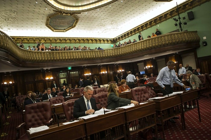"""""""This, I believe, is the next big thing for the city, and hopefully for the state and for the country,"""" the proposal's sponsor, City Councilman James Gennaro, said before Wednesday's vote."""