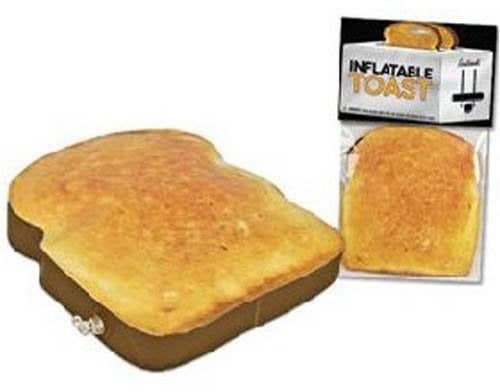 Do you love toast so much that you wish you could carry it wherever you go? Well now you can.