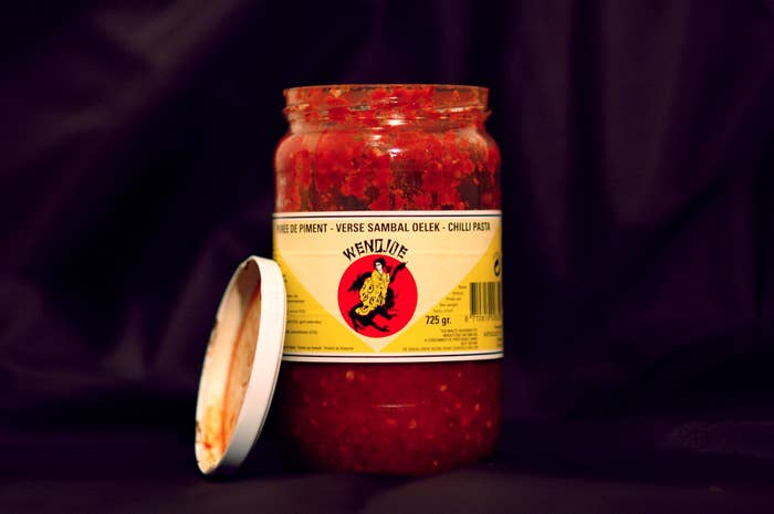 Raw chili paste popular in Southeast Asia.