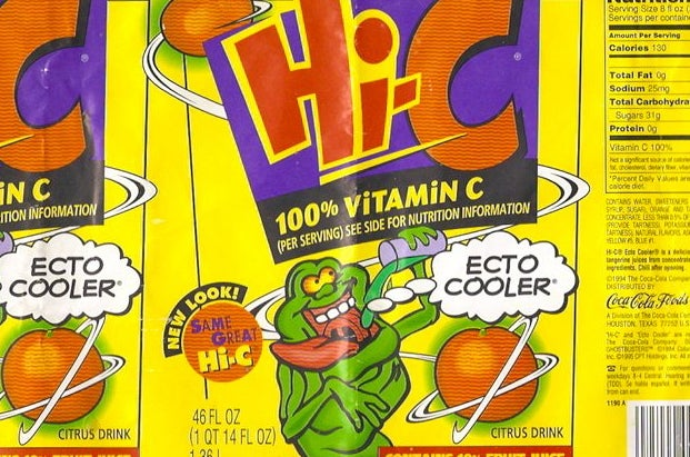Children all around the world weeped when the Hi-C Ecto Cooler was discontinued in 2001.