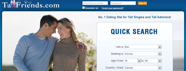 Dating site in usa and europe