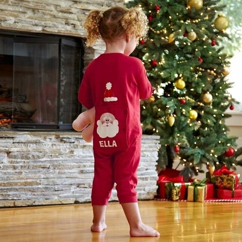 What parent doesn't want the cute Christmas morning photo of a sweet babe opening gifts in adorable holiday themed jammies? The perfect gear for those perfect photo memories!