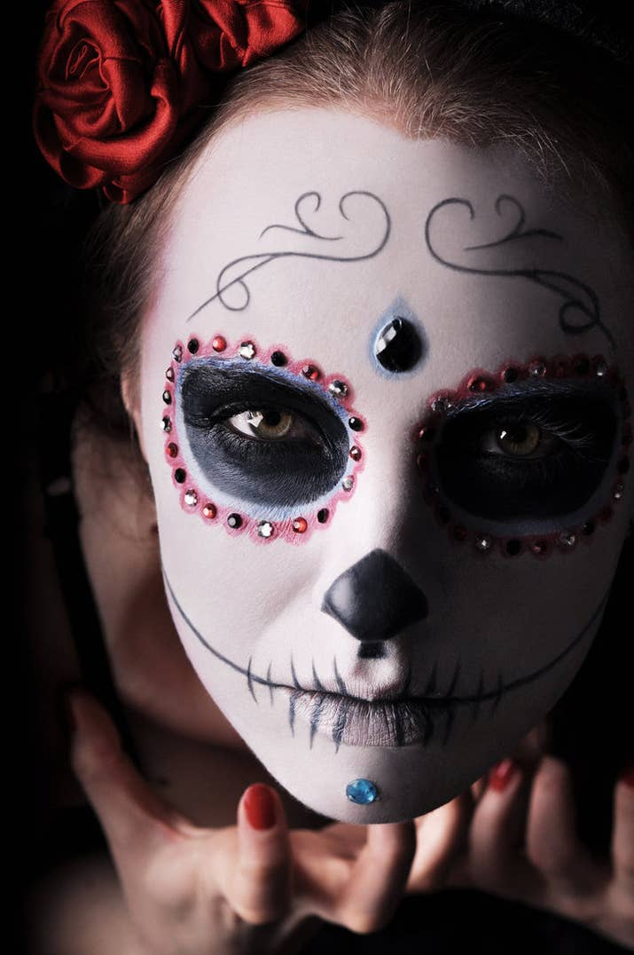 9 - Halloween Day Of The Dead Face Paint