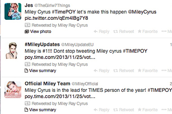 If Miley Cyrus Wins TIME's Person Of The Year She Will Be The First Woman To Do So In 27 Years