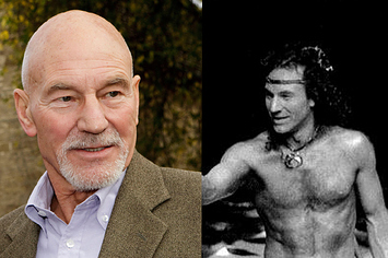 Young Patrick Stewart In Nothing But A Loincloth And Abs