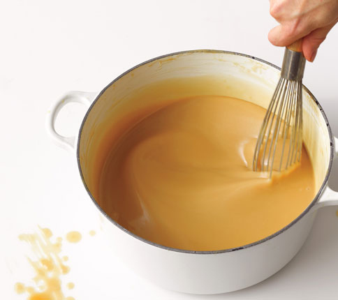 how to make gravy out of ham drippings