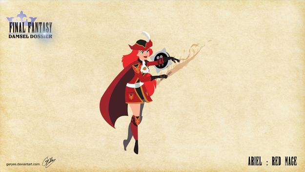 Ariel as the most versatile caster.
