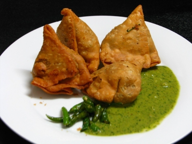 And, finally, samosas.