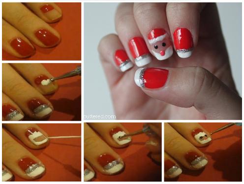 21 easy holiday nail designs
