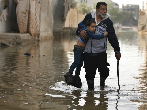 Increasingly Cut Off From The World, Gaza Battles Power Outages And Sewage Floods