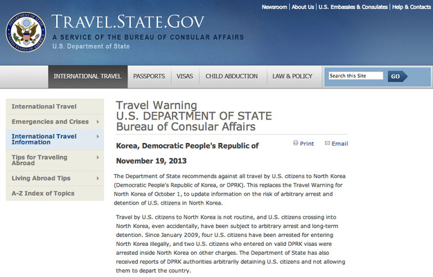 U S Department Of State Warns Against Travel To North Korea Buzzfeed News
