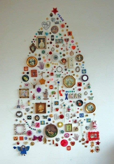 make a wall decal tree