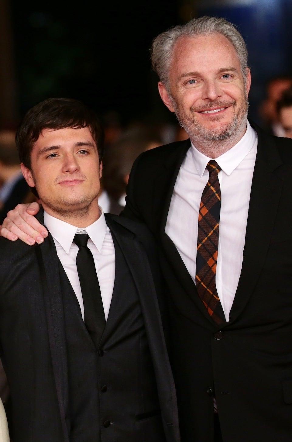 Josh Hutcherson and Francis Lawrence