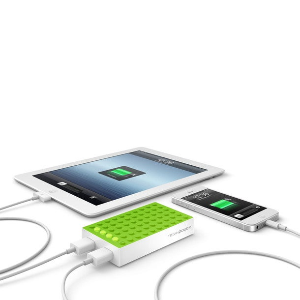 This thing is perfect for travelers. A powerful portable charging device, it can charge two gadgets at once.