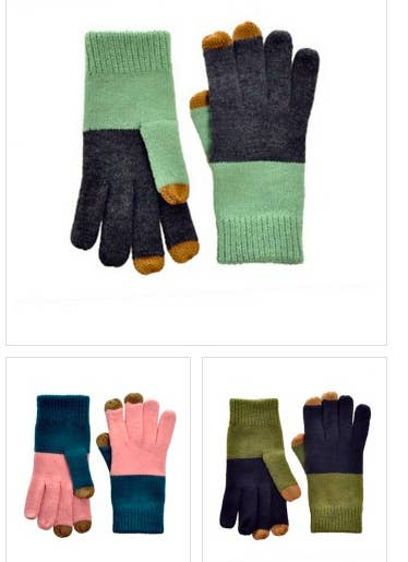 Smartphone-friendly gloves are everywhere this season, but these are actually CUTE. Get them here.
