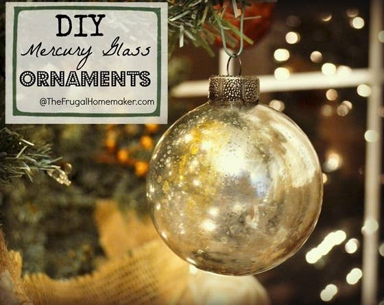 39 ways to decorate a glass ornament diy mercury glass ornaments solutioingenieria Images