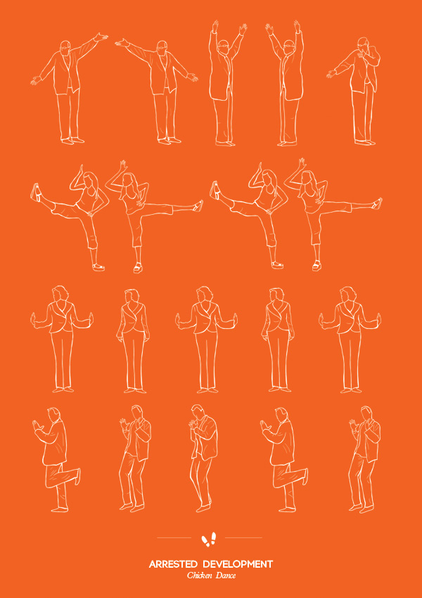 14 Posters To Help You Learn Your Favorite Dance Routines