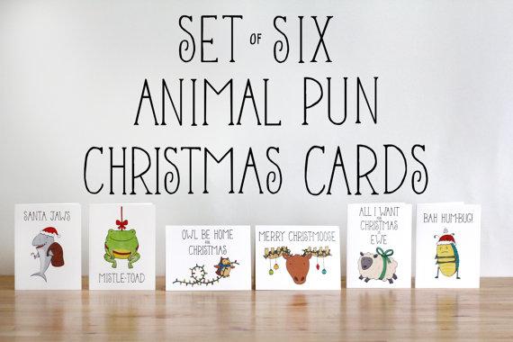 19 Funny & Festive Etsy Christmas Cards