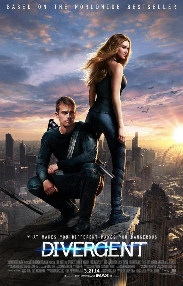 Something about Tris in the new Divergent poster seems familiar.
