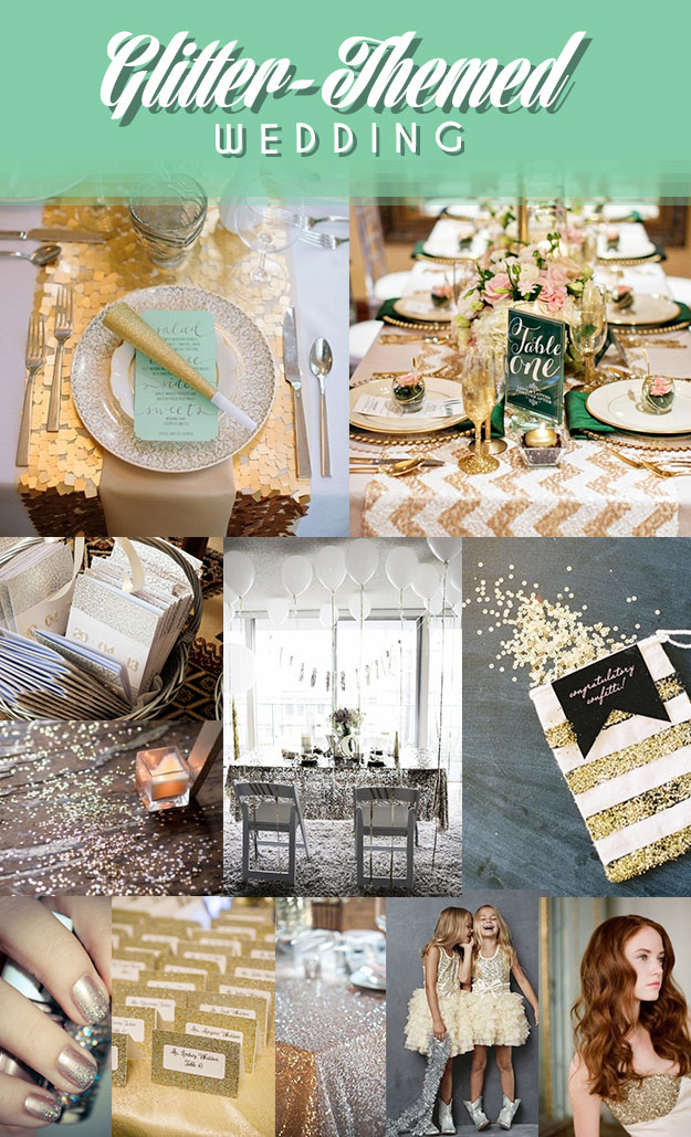 12 Legitimately Awesome Nontraditional Wedding Themes