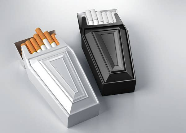 Packaging Design Ideas best tesco coffee packaging design galleries and ideas Anti Smoking Cigarette Packaging That Really Drives The Message Home