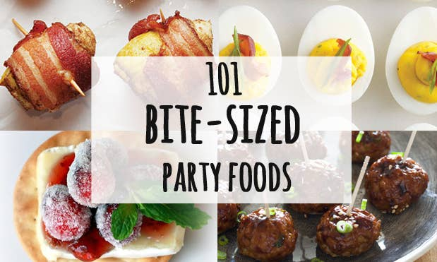 101 bite size party foods