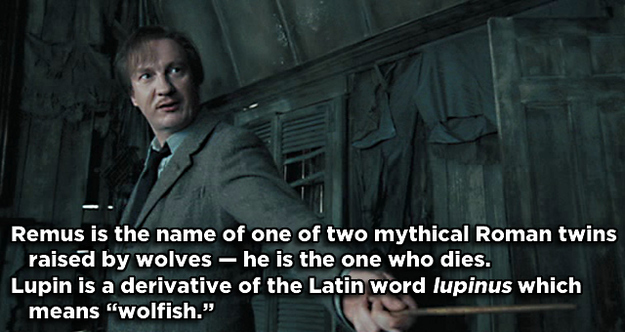 Summary -> Hidden Meanings Behind Harry Potter Character Names