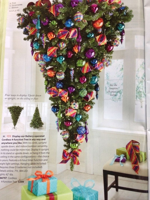 19 pinterest projects ain 39 t nobody got time for - Why upside down christmas tree ...